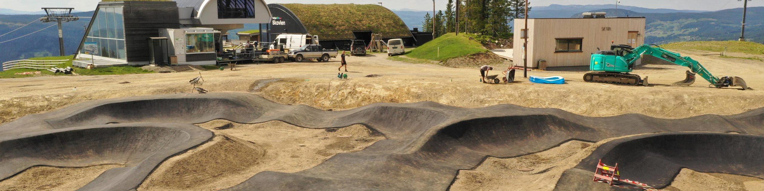 Pumptrack Hafjell Bikepark